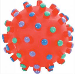 Zolux zabawka winylowa Piłka z wypustkami 7 cm