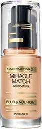 MAX FACTOR Miracle Match Podkład do twarzy 030 Porcelain 30ml