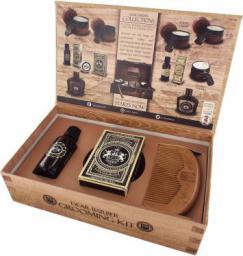 Dear Barber Collection III Beard Grooming olejek do brody 30ml + wosk do wąsów 25ml + grzebień do brody