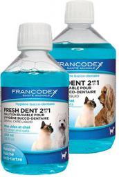 FRANCODEX PL Fresh dent - płyn do higieny jamy ustnej dla psów i kotów 500 ml
