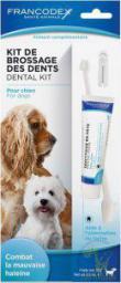 FRANCODEX PL Zestaw szczoteczka i pasta do czyszczenia zębów