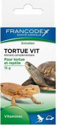 FRANCODEX Witaminy dla żółwi i gadów - 15 g