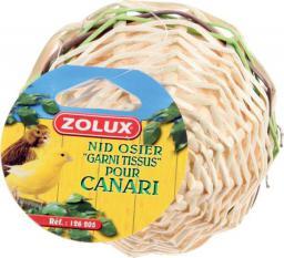 Zolux Gniazdko wiklinowe obszyte dla kanarka - Luzem