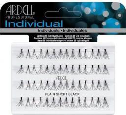 Ardell Duralash Individual Flare Short Black - kępki sztucznych rzęs 56szt