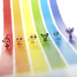 Hasbro Littlest Pet Shop Tęczowi przyjaciele, Horse - (C0795/C0806)