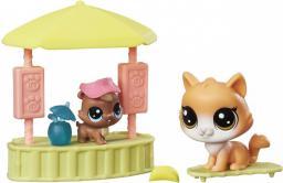 Hasbro Littlest Pet Shop Przygody zwierzaków, Tiki Hut Hangout (B9347/C0048)