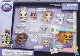 Hasbro Littlest Pet Shop Zestaw 11 figurek, cuddliest (B6625/B9754)
