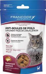 FRANCODEX Przysmak dla kotów - przeciw zakłaczeniom 65 g