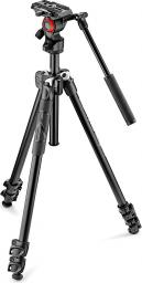 Statyw Manfrotto 290 light Kit with Fluid Video Head (MK290LTA3-V)