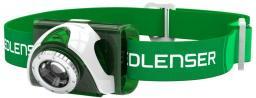 Ledlenser Latarka czołowa Seo 3 LED Green (6103)