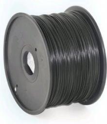 Gembird Filament 1.75mm, 1kg, czarny (3DP-ABS1.75-01-BK)