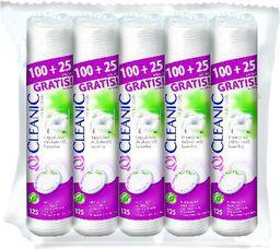 Cleanic Płatki kosmetyczne Pure Effect Okrągłe 5x125 szt
