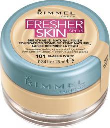 Rimmel  Fresher Skin Foundation SPF15 101 Classic Ivory 25ml
