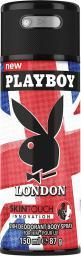 Playboy LONDON Dezodorant w sprayu 150ml