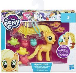 Hasbro My Little Pony Stylowa grzywa, Applejack (B8809/B9617)