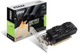 Karta graficzna MSI GeForce GTX 1050 2GB GDDR5 (128 Bit) DVI, HDMI, DP, BOX (GTX 1050 2GT LP)