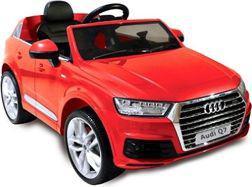 LEANToys Auto na akumulator AUDI Q7, czerwone