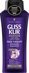 Schwarzkopf Gliss Kur Fiber Therapy Szampon do włosów przeciążonych  400ml