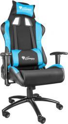 Fotel Genesis Nitro 550 Czarno-niebieski (NFG-0783)