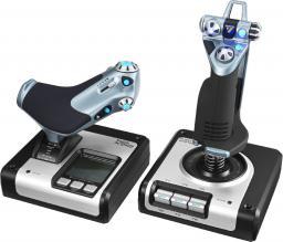 Joystick Logitech X52 Flight Control System USB (945-000006)