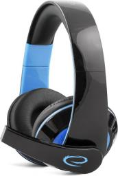 Słuchawki Esperanza CONDOR Czarno-niebieskie (EGH300B)