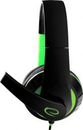 Słuchawki Esperanza CONDOR Czarno-zielone (EGH300G)