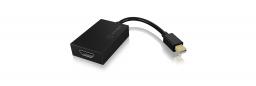 Kabel Icy Box DisplayPort Mini HDMI, 0.15, Czarny (IB-AC544)