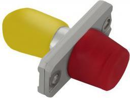 Qoltec Adapter światłowodowy hybrydowy FC/UPC-ST/UPC simplex MultiMode (54156)
