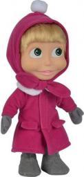 Simba Masza i Niedźwiedź Miękka lalka 23 cm w stroju zimowym