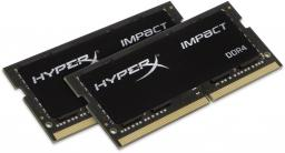 Pamięć do laptopa HyperX Impact DDR4 SODIMM 2x8GB 2666MHz CL15 (HX426S15IB2K2/16)