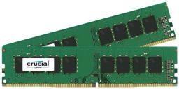Pamięć Crucial DDR4, 8 GB,2400MHz, CL17 (CT2K4G4DFS824A)