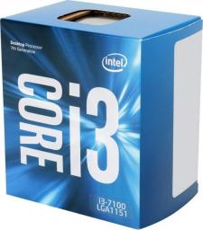 Procesor Intel Core i3-7100, 3.9GHz, 3 MB, BOX (BX80677I37100)
