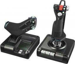 Joystick Logitech G Saitek X52 Pro Flight Control System USB (945-000003)