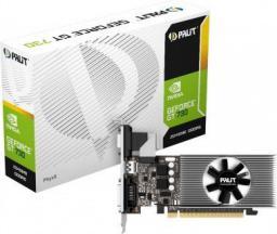 Karta graficzna Palit GeForce GT 730 2GB DDR5 (64 Bit) DVI-D, HDMI, D-Sub, BOX (NE5T7300HD46F)