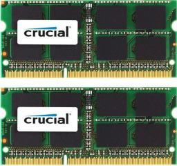 Pamięć do laptopa Crucial SODIMM  DDR3L 2x4GB, 1866MHz, CL11  (CT2K51264BF186DJ)