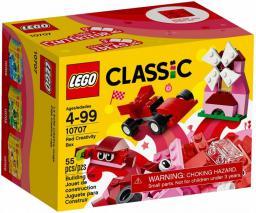 LEGO Classic Czerwony zestaw kreatywny (10707)
