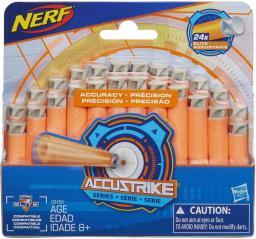 Nerf Accustrike strzalki 24 sztuki (C0163)