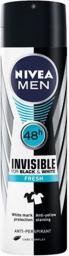 Nivea Men Invisible Black & White Antiperspirant Spray 150ml