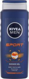 Nivea Men Sport Shower Gel Żel pod prysznic 500ml
