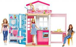Mattel Barbie Domek + lalka - DVV48