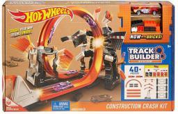 Hot Wheels Szalone kraksy – Zestaw torów z samochodzikiem (381889)