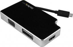 Adapter AV StarTech USB-C  - VGA + DVI + HDMI (CDPVGDVHDB)
