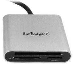 Czytnik StarTech FLASH CARD READER - USB-C - FCREADU3C
