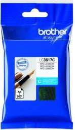 Brother tusz oryginalny LC-3617C (cyan)