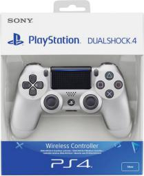 Gamepad Sony PS4 Dualshock 4 V2 Silver (9895657)
