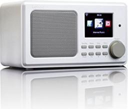 Radio Lenco DIR-100 białe