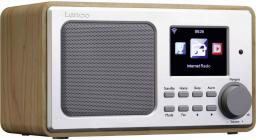 Radio Lenco DIR-100 brązowe