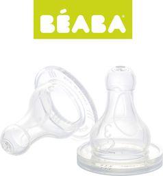 Beaba Smoczki do butelek 0m+ 2 sztuki (911287)
