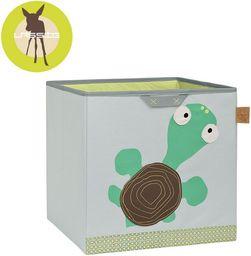 Lassig Pudełko na zabawki Wildlife Żółw 32,5 x 33,5 x 32,5 cm