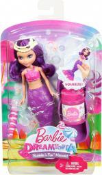 Mattel BARBIE Bąbelkowe małe syrenki, różowa (DVM97/DVM98)
